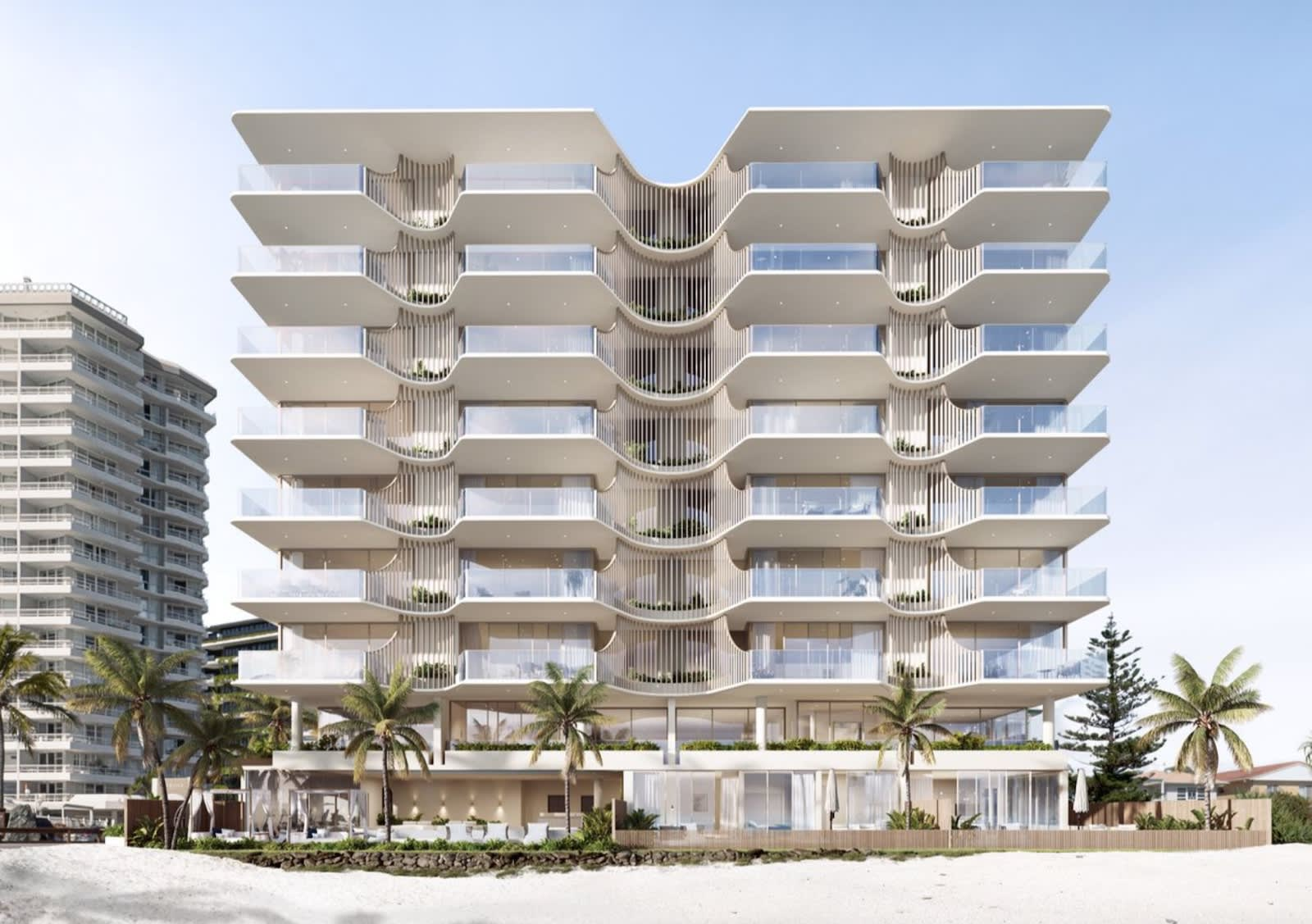 Which Gold Coast apartment developments are being fast-tracked due to strong sales?