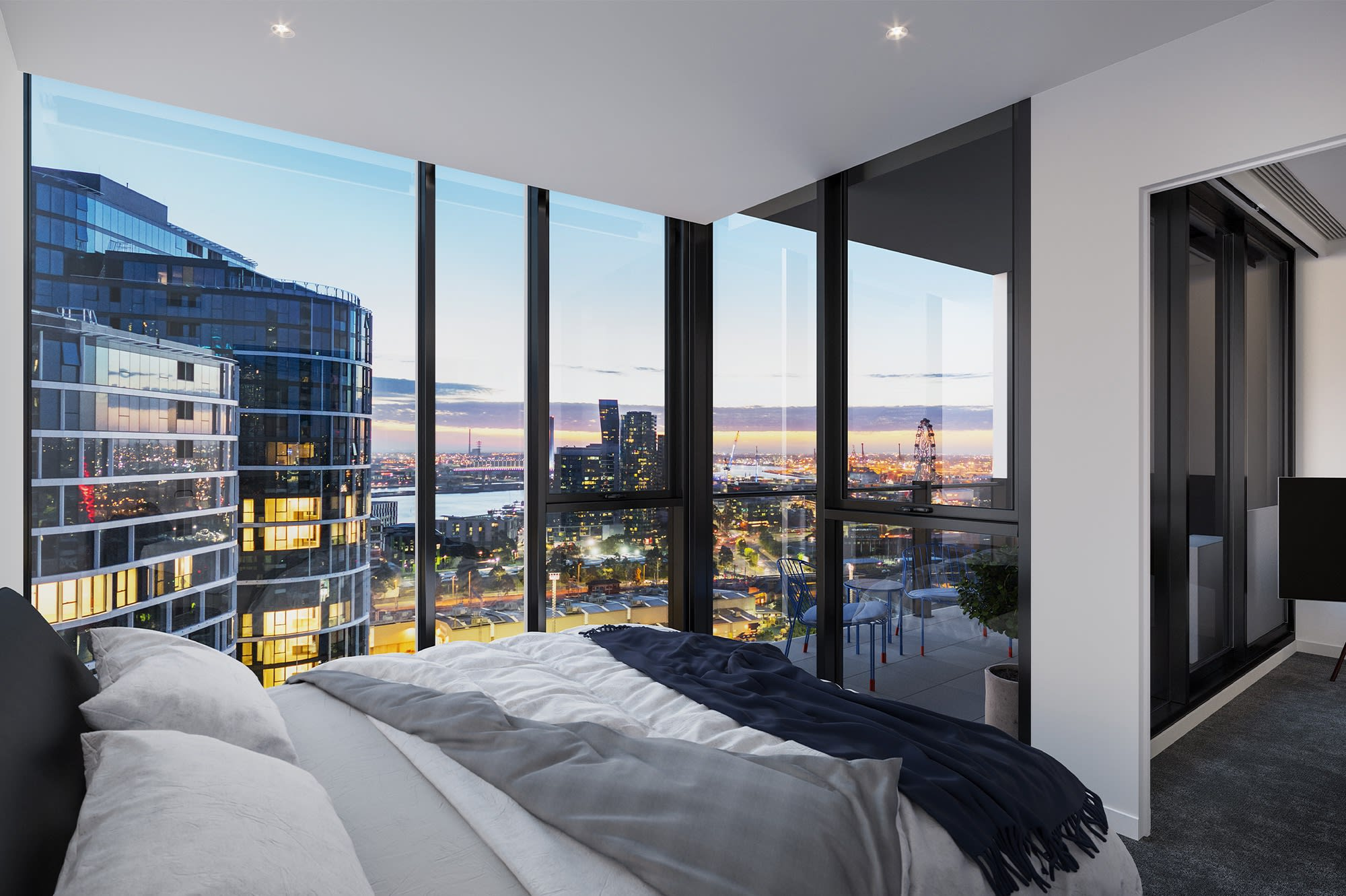 Floorplan Focus: Central Equity offer four floorplans at West Melbourne tower Parkhill Apartments