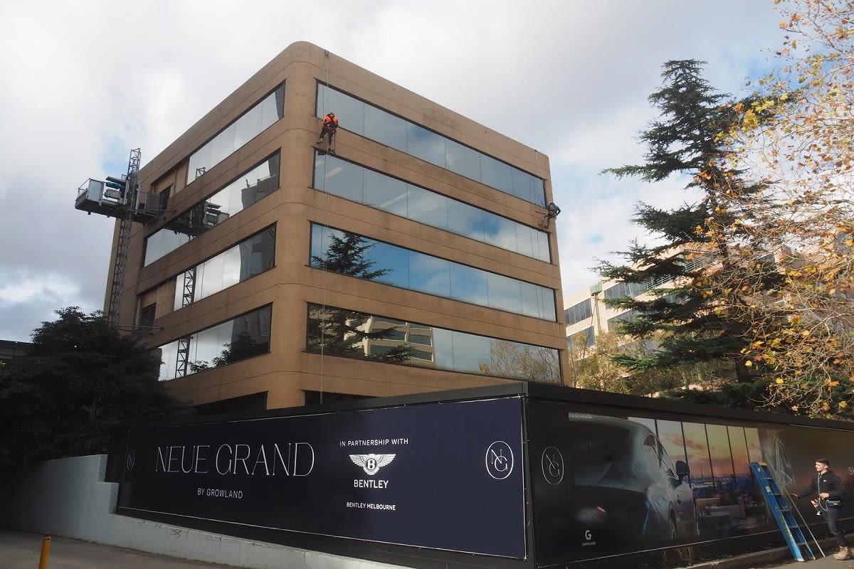NEUE GRAND construction update