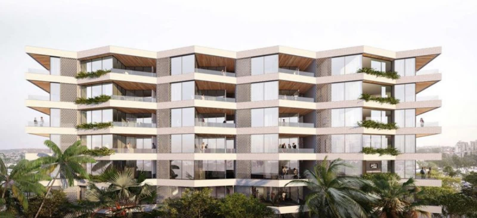 Aria Property Group receive approval for new Kangaroo Point apartment development Riviere