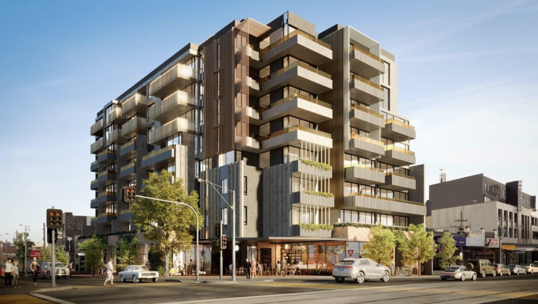Ruber Group lists nine storey Northcote apartment development site
