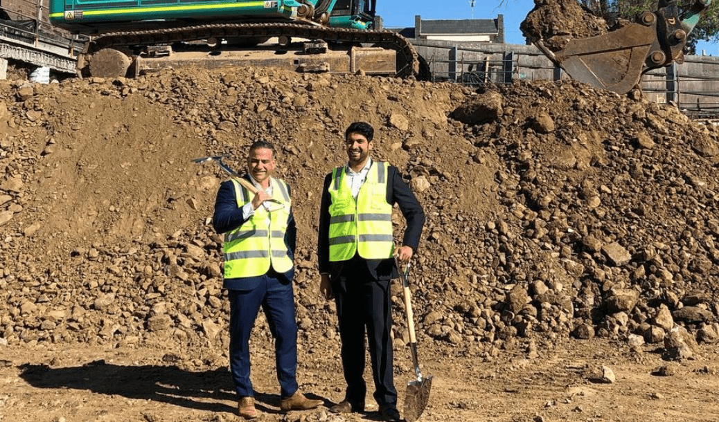 Franzé Developments break ground at mixed-use Geelong project, Ryrie Home