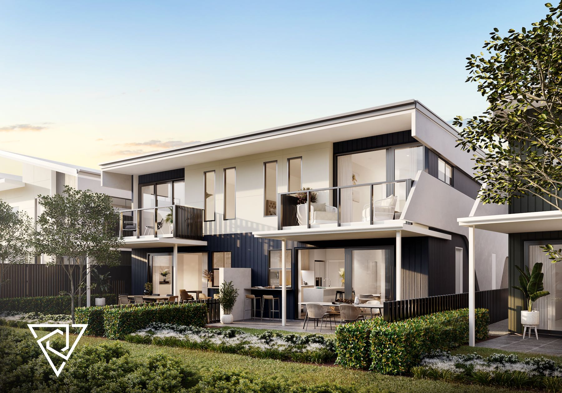 Keylin and Kinstone fast-track Gold Coast townhouse project Serenity 4212