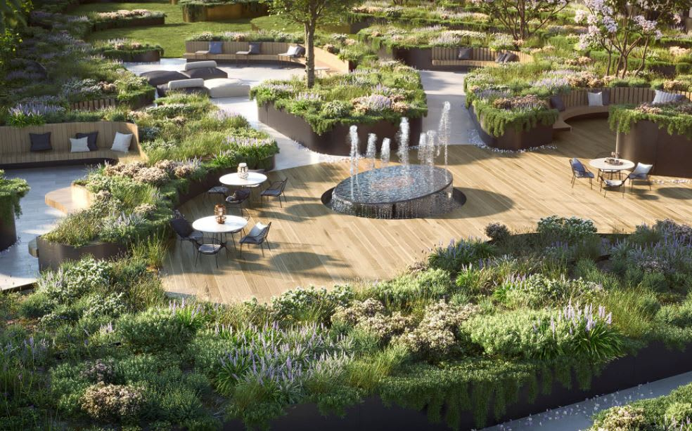Shop, study and relax all without leaving your front door at Golden Age's Sky Garden