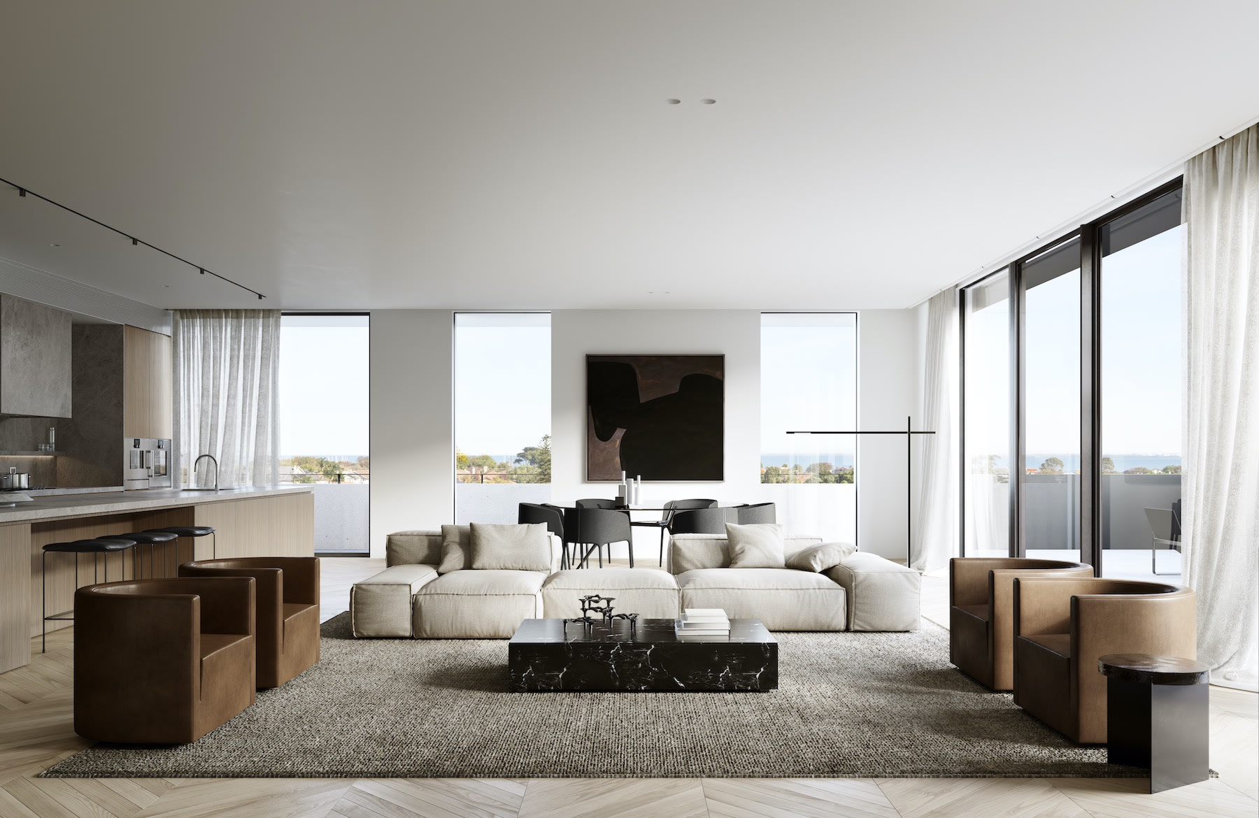 VCON win $50 million contract to build Landream and V-Leader's Brighton apartment development The International