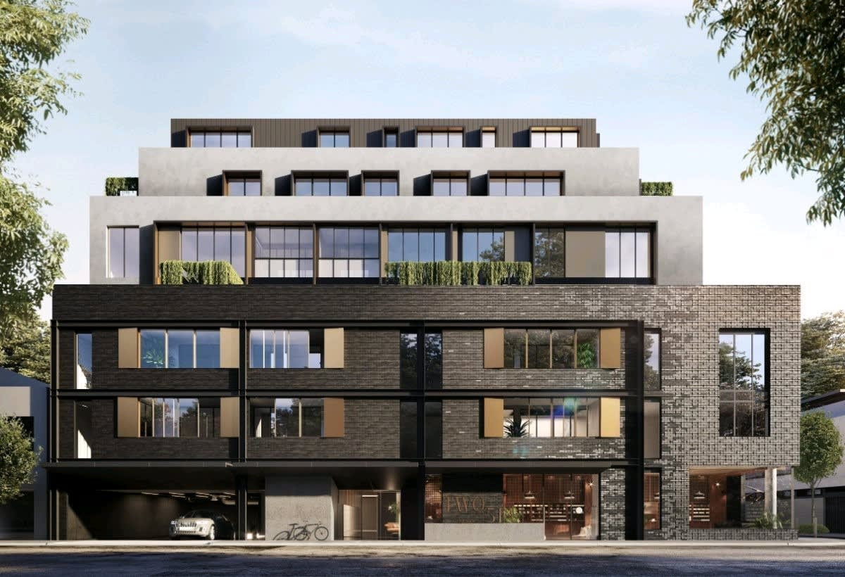 TWO51 on Swan: Architect-designed homes in Melbourne's Richmond