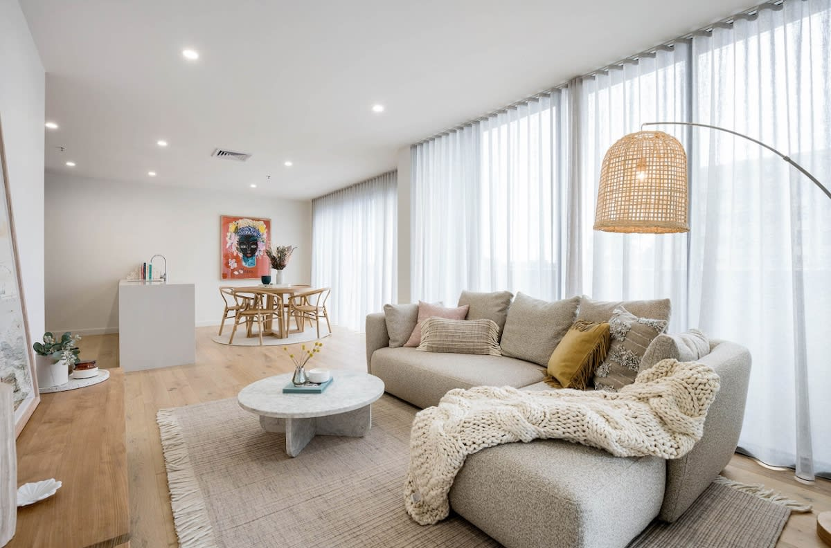 Developer Hallmarc offer $10,000 furniture vouchers for buyers in Melbourne apartment development Vista Apartments