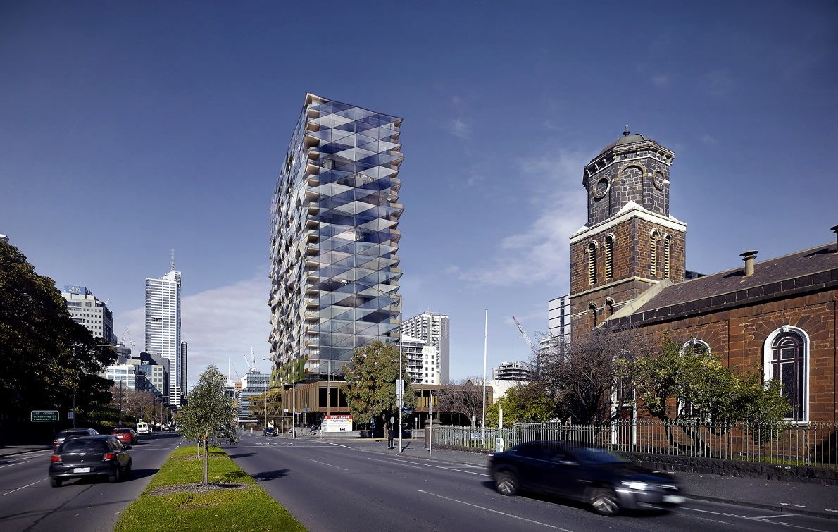 WEST MELBOURNE | 385-405 King Street | 23L | 73m | Residential