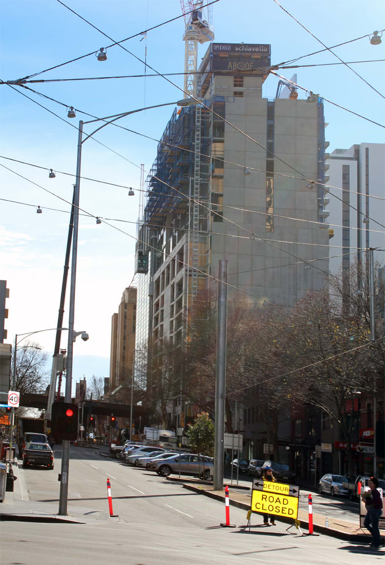 CBD | Abode 318 | 318 Russell St | 188m | 57L | Residential