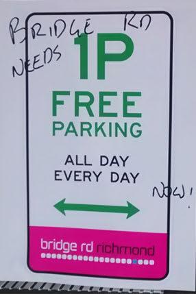 Will free parking save Bridge Road?