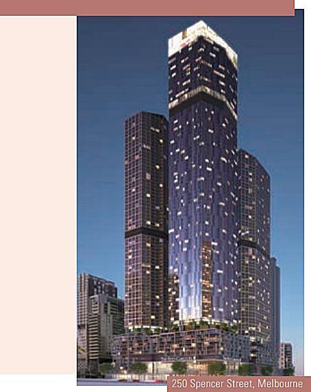Far East Consortium's massive 250 Spencer Street design unveiled?