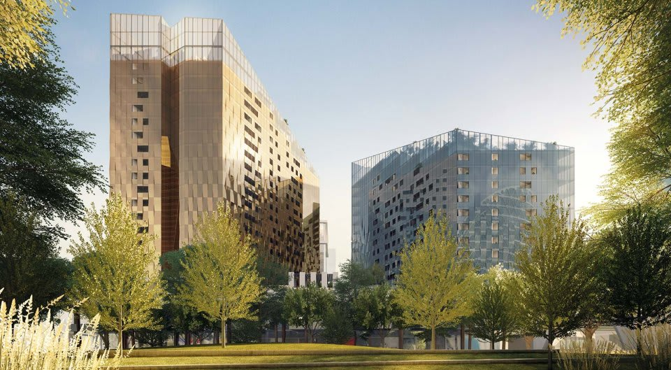 DOCKLANDS | NewQuay Promenade | 411-423 Docklands Drive | 18L & 22L | 66m & 76m | Residential