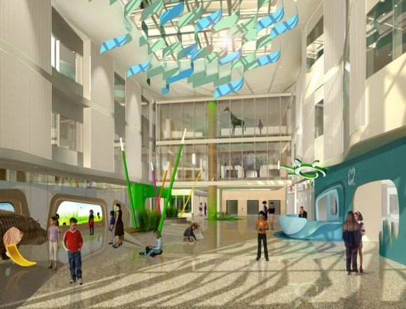 Monash Children's Hospital begins construction