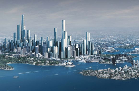 The future of Sydney's skyline: 9 tallest skyscrapers by 2025
