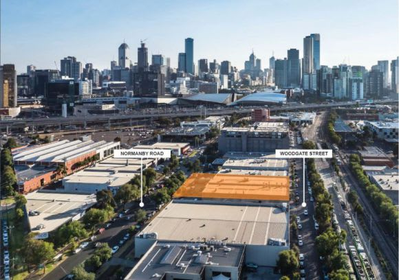 Fishermans Bend's first project breaks ground