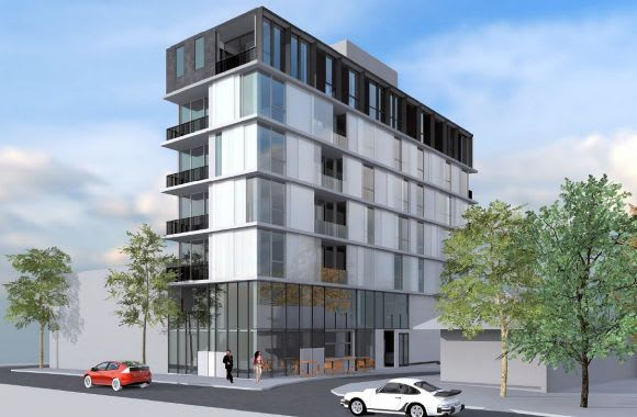 Moonee Ponds' apartment scene in focus