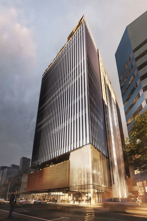 Cbus Property unveils 0m office project in Adelaide
