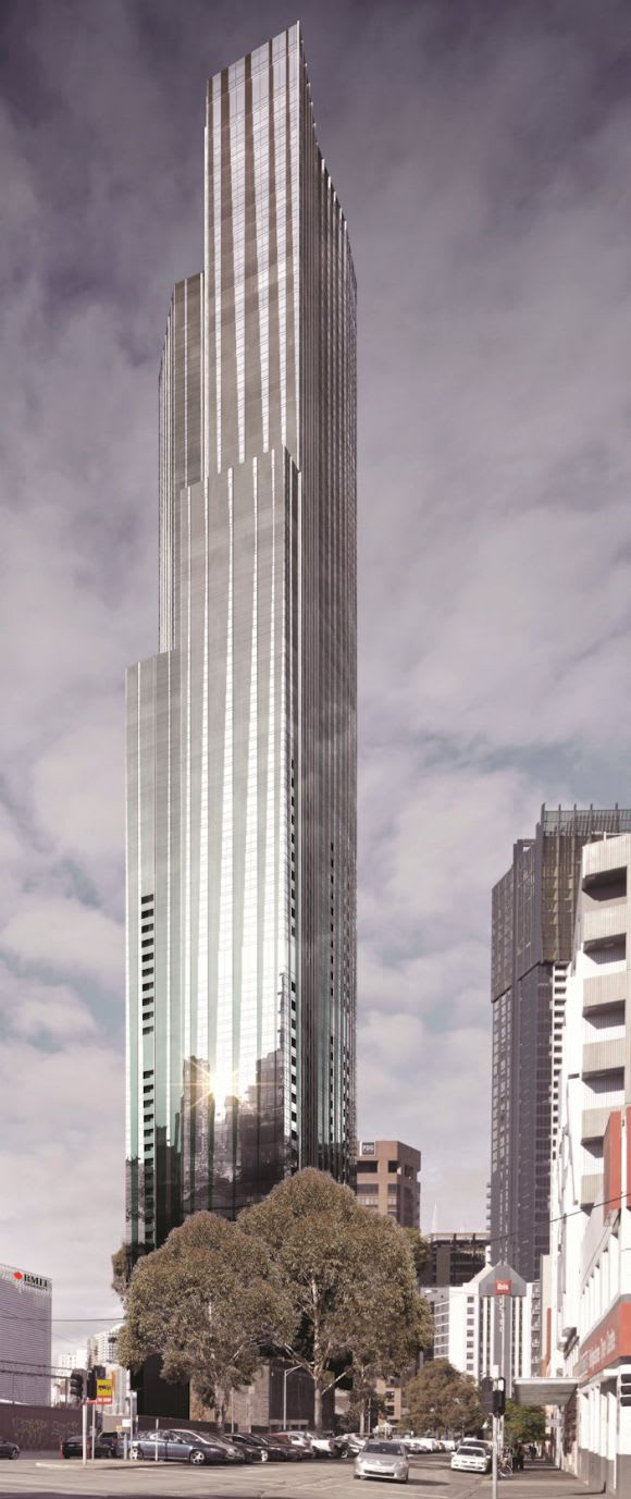 8 Bouverie Street a giant amongst Melbourne development sites