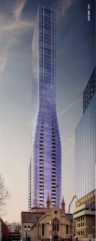 The Fahrenheit Tower? A closer look at 127-141 A'Beckett Street