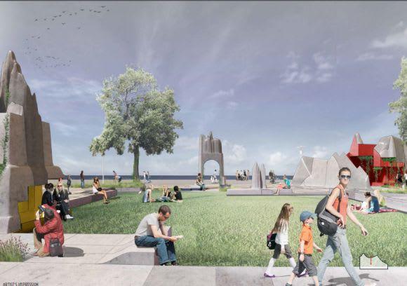 Monument Park NewQuay