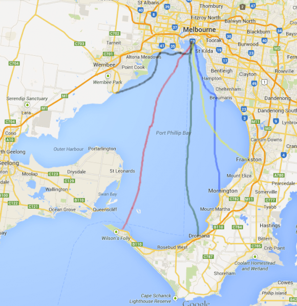 Harbouring doubts - are ferries for Melbourne viable?