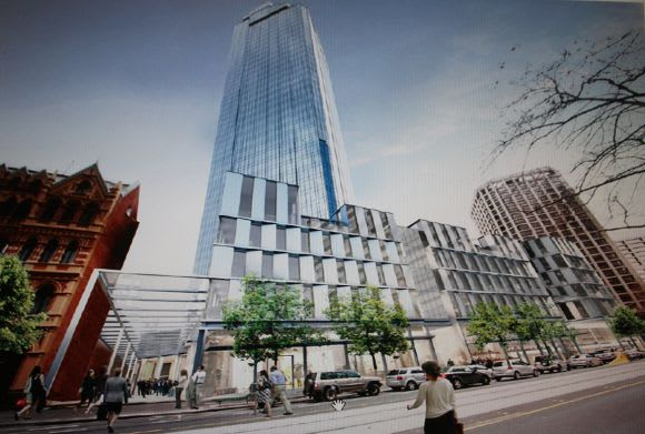 Rialtooooohh boy! Is this 525 Collins Street's redevelopment unveiled?