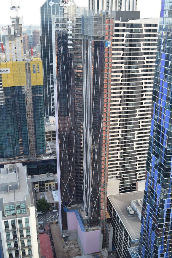 Probuild tops out World Class Global's Avant ahead of schedule
