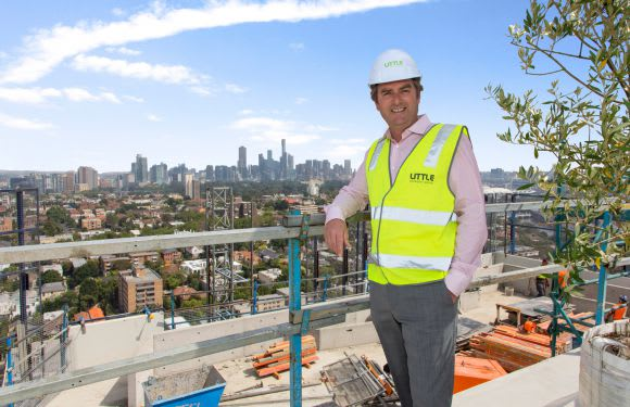 Central South Yarra tops out