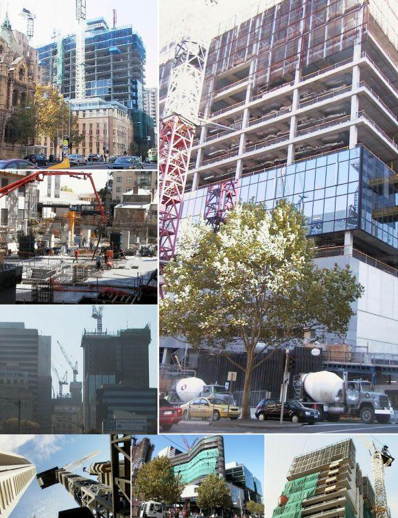 Melbourne under construction > April 2004
