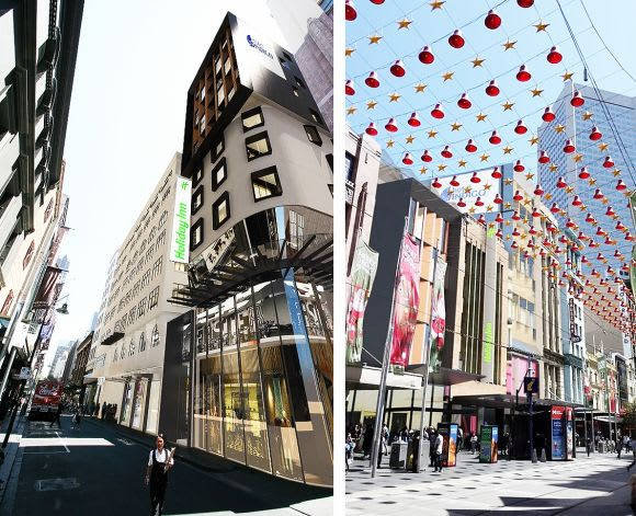Hotel Indigo and Holiday Inn to open in Walk Arcade redevelopment
