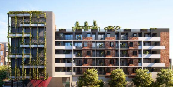 Quay Quarter's rooftop garden, rendering by 3XN