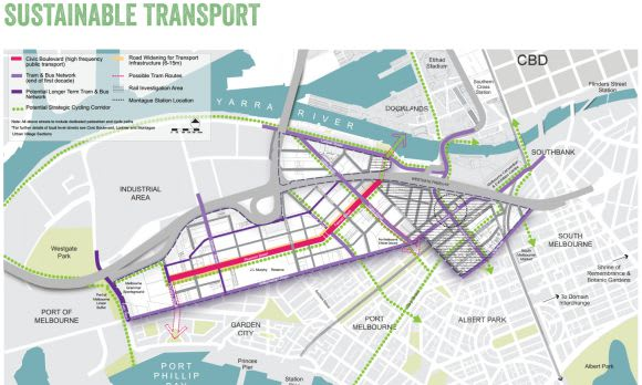 Fishermans Bend Strategic Framework Plan released