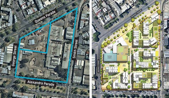 The Andrews Government commits to vertical school at Fitzroy Gasworks site