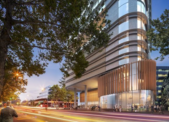 32 Smith Street's street level interface. Image: Supplied