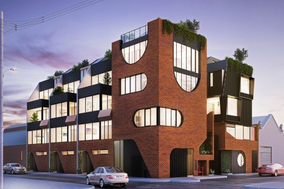 FourSQ throws open its display suite for No. 108 in Fitzroy