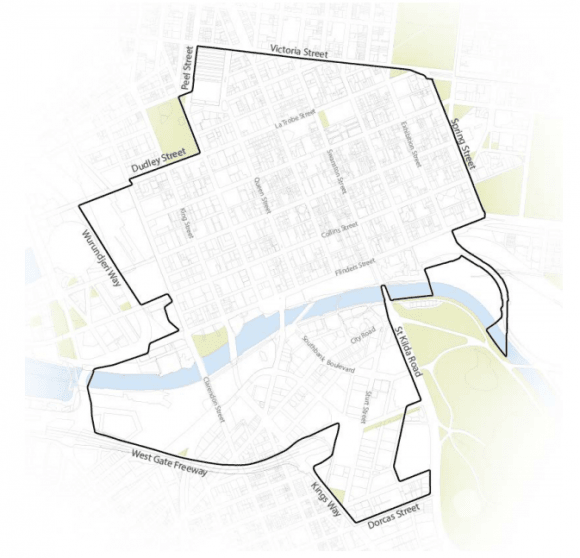 City of Melbourne's amendment 308 seeks to implement a new central city design guide