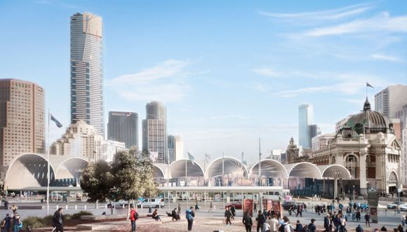 Was the Flinders Street Station competition value for money?