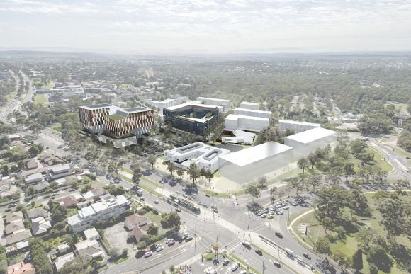 La Trobe University's  billion University City of the Future receives funding