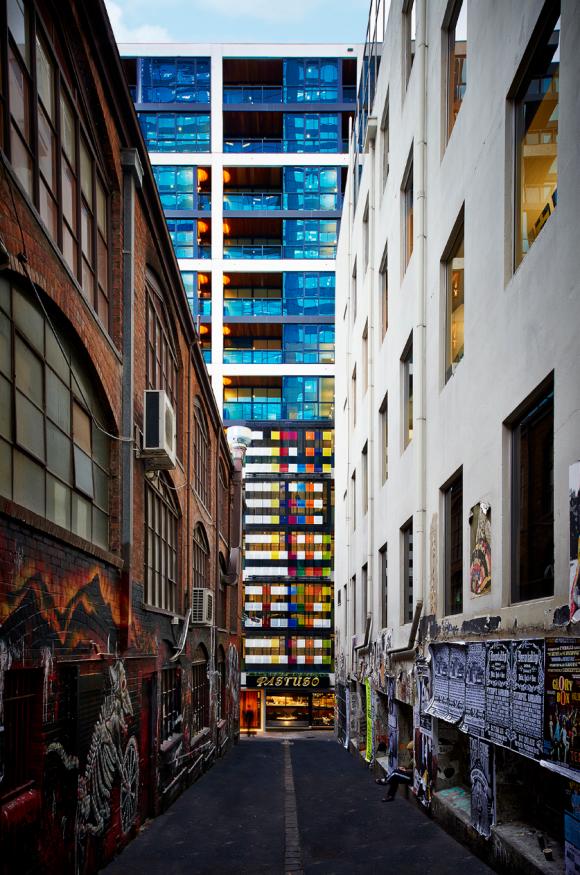 In focus: 108 Flinders Street, Melbourne