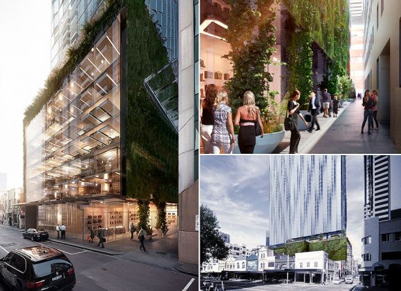 Little Lonsdale Street becomes a showcase of previous planning attitudes