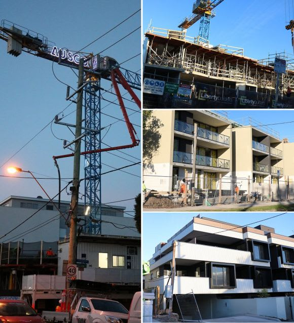 Apartments spur Glen Eira's construction boom