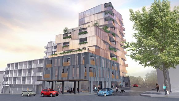Two residential projects seek their spot on Hawthorn's Burwood Road
