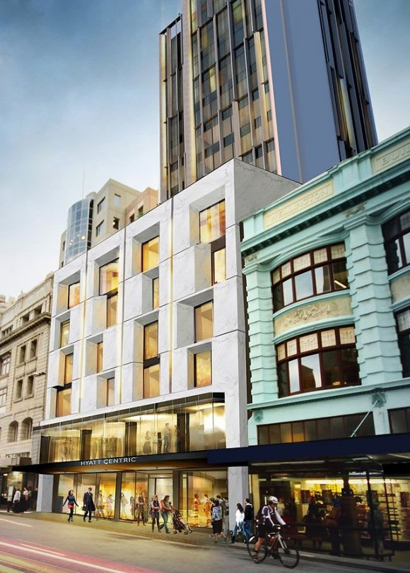 Little Projects lands Hyatt Centric for Downie Street