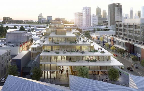 South Melbourne's super block joins the commercial race