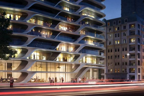 Zaha Hadid Architects land on St Kilda Road