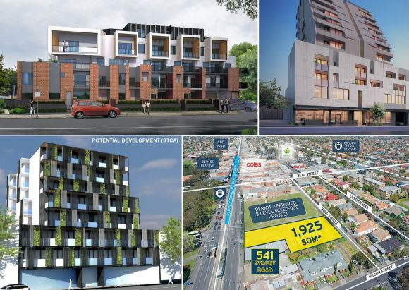 Development sites presently advertised for sale offer a reflection of the current market