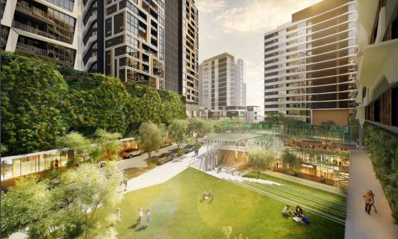 Brisbane's South City Square changes composition