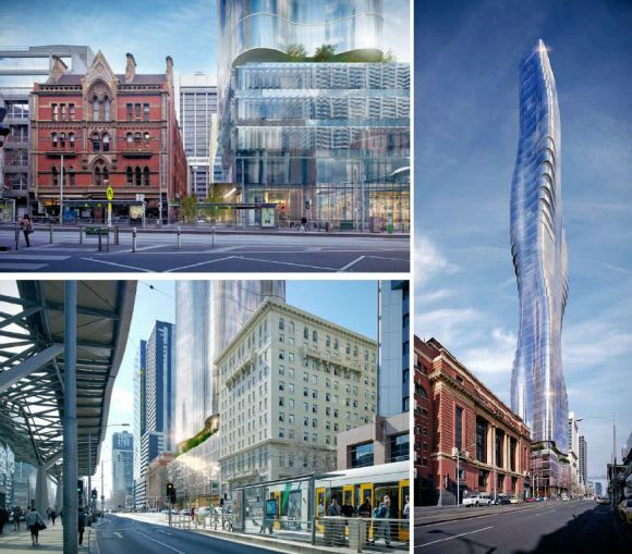 Future Melbourne and 134-160 Spencer Street