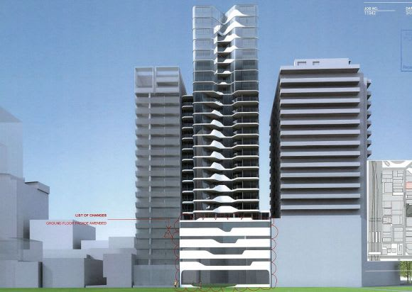 DealCorp's spinalscraper: 42-48 Claremont Street, South Yarra