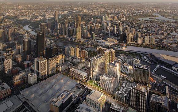 Lendlease woos AMP to Melbourne Quarter